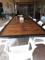 12 seat intertainment table