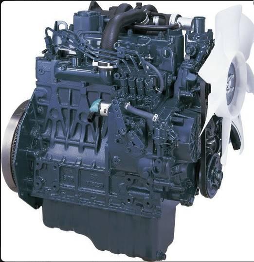 Kubota V1505 engine for refrigeration unit