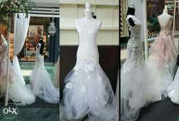 Designer Wedding dress...can be collected of viewed in Bellville aswel