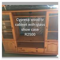 cypress tv cabinet