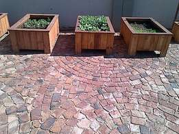 Planter box Shenaz series 980 3 quarter flat - Treated