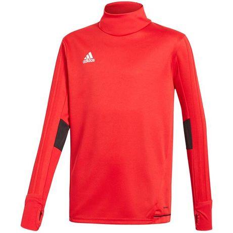 256fdcffd Bluza adidas Tiro 17 Training Top JR czerwona BQ2754-różne rozmiary  Strzelce Opolskie - image
