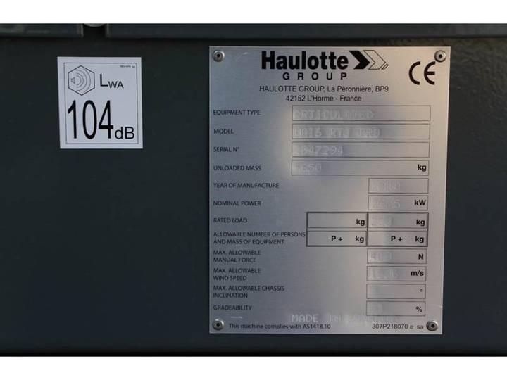 Haulotte HA16RTJPRO - 2018 - image 9
