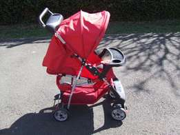 pram and cot combo for sale