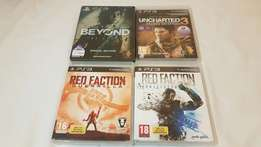 Various PS3 games(R80 each/R300 for the lot)