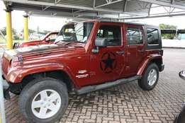 2010 Jeep Wrangler Unlimited 2.8 CRD Sahara Automatic,