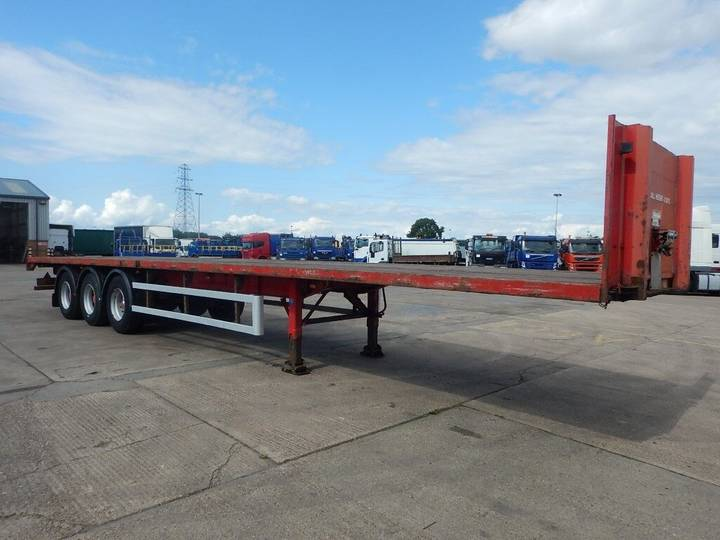 SDC 44FT FLATBED TRAILER - 2003 - C115351 - 2003