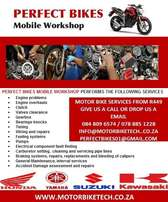 Motorcycle and Scooter Mechanic Mobile workshop