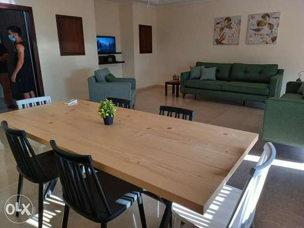 Fully Furnished with Sea view For rent in Awkar