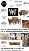 Contact us for Blackwood and Solid Wood Furniture
