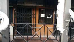 Double shop available for sale in a very busy plaza in Garki