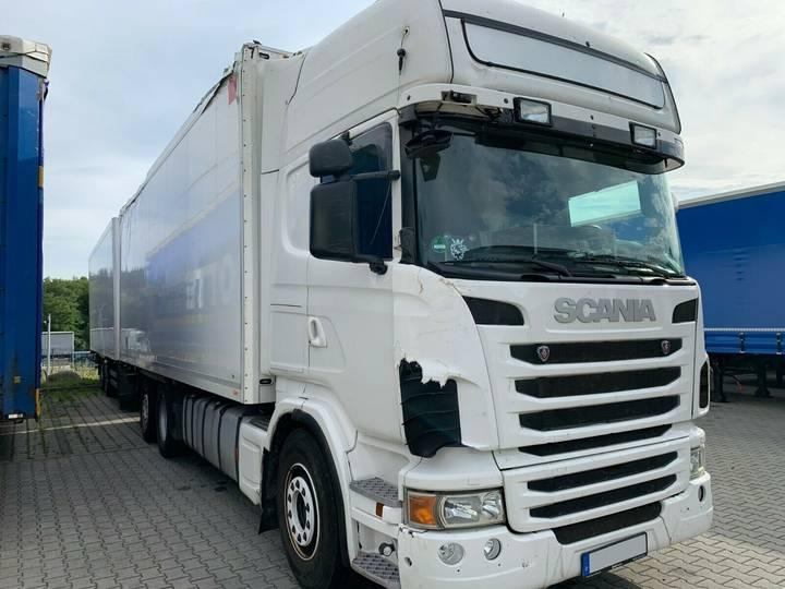 Scania R480 6x2 38-Paletten Kühlkoffer+ANH-Schmitz-2012 - 2012
