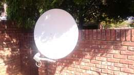 DSTV satellite dish (Twin LNBF)