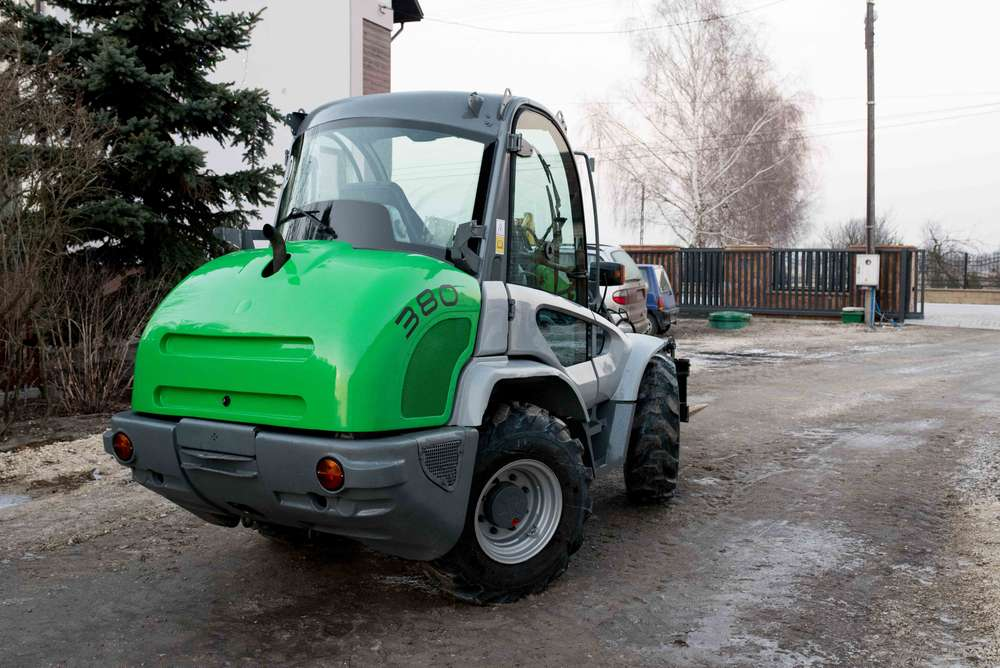 Kramer 380 mit Palettengabel und Schaufel - 2006 - image 2