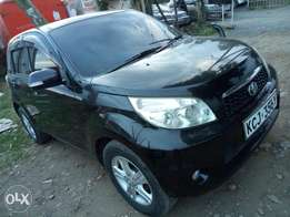Toyota rush kcj, metallic black.