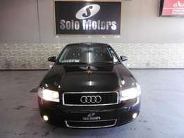 2005 Audi A4 1.8 T Sedan 4 Door in Black