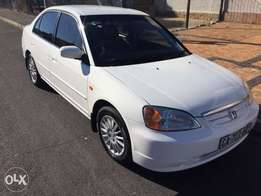 Honda civic 170i 2001