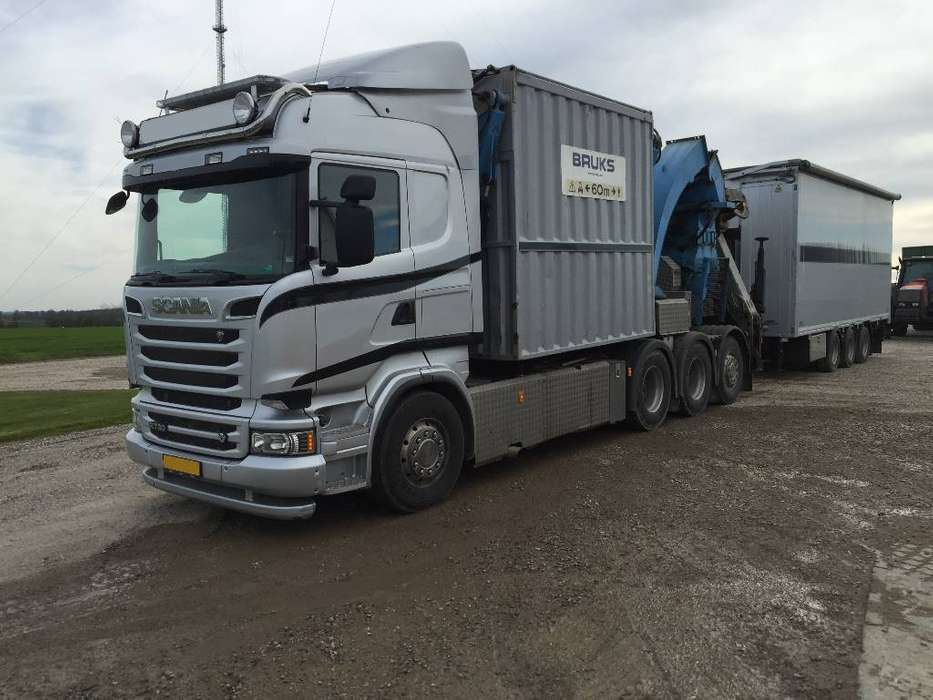 Bruks 805.2 Ptc - Scania V8 730 Euro5 New Price - 2014