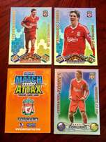"Extremely rare and sought after Match Attax ""Hundred Club"" Cards"