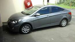 July 2014 Hyundai Accent, 1.6 Fluid, R179 865.