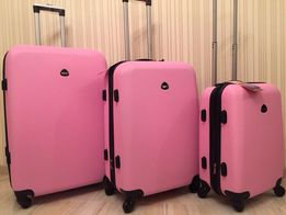 РАСПРОДАЖА 790 грн большой чемодан валіза сумка на колесах пластиковый 03d4435b4e8e4