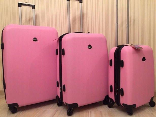 33cbe993c6fe РАСПРОДАЖА 690 грн большой чемодан валіза сумка на колесах пластиковый Киев  - изображение 1