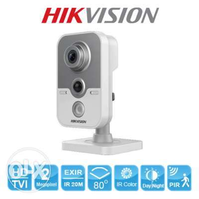 2MP Ultra-Low Light PIR Cube Camera WIFI HIKVISION 1080P