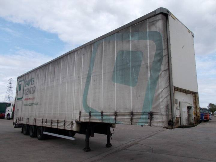 Montracon 44FT DOUBLE DECK CURTAINSIDER TRAILER - C199684 - 2000