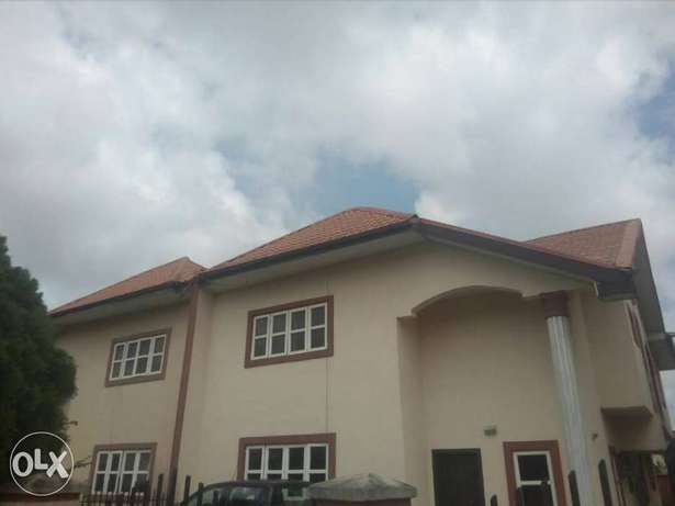 4 B/R Semi-detached Duplex with BQ for rent Lagos Mainland - image 1