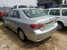 Reg. 2011 Toyota Corolla for sale in Portharcourt