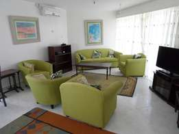 3 bedroom fully furnished beachside apartment for long term let,Nyali