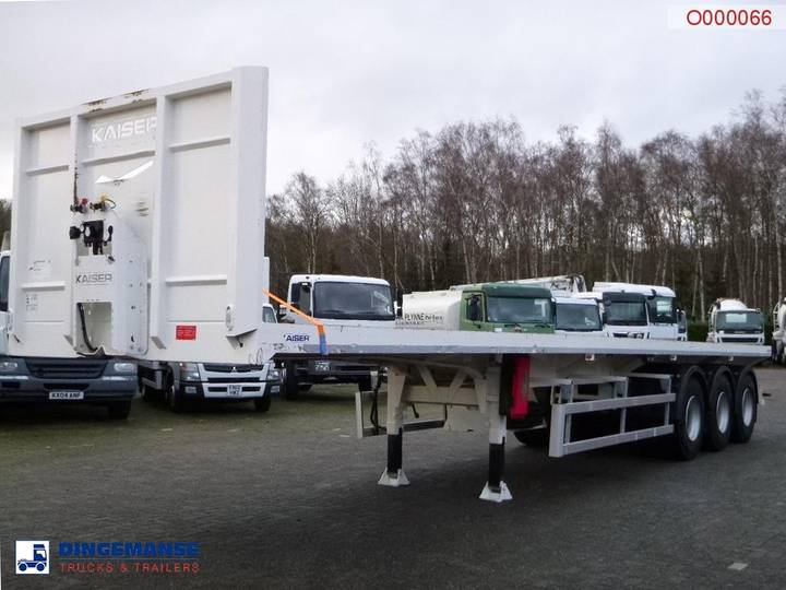 Robuste Kaiser 3-axle platform/container trailer 12.45 m / 40 ft - 2016