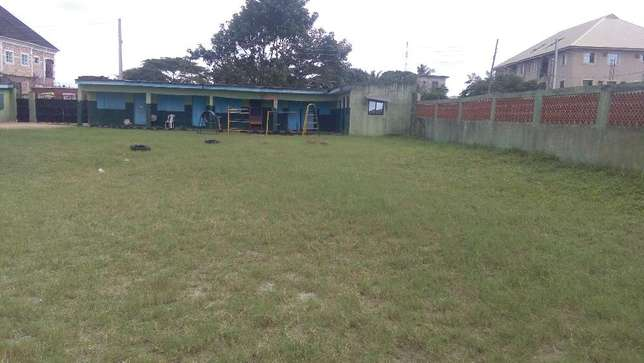 A government approved private school, on a 4 plot of land fence at Iba Ojo - image 2