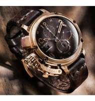 Uboat Leather watch