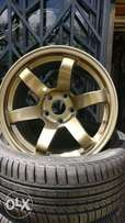 High quality alloy rims and tires