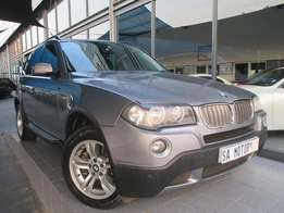2008 BMW X 3 2.5 Si Exclusive Automatic