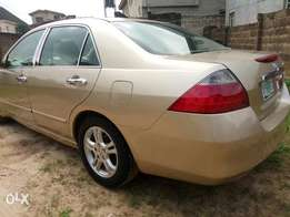 Neatly used Honda accord 2007