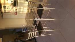 Glass table and chair set urgent sale