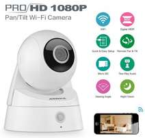 IP Pan/Tilt WIFI security HD Camera CCTV 720p/1080p Nanny cam