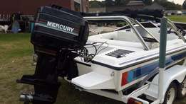 Scimitar 180 and Mercury 200hp Efi