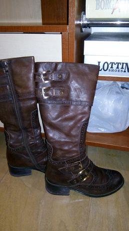 Терміново! Жіночі шкіряні зимові чоботи  230 грн. - Жіноче взуття ... eb5ecf40c99cb