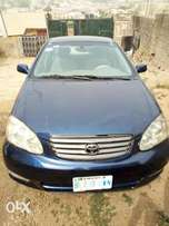 Very clean and neatly used Toyota corolla 2003 for sale