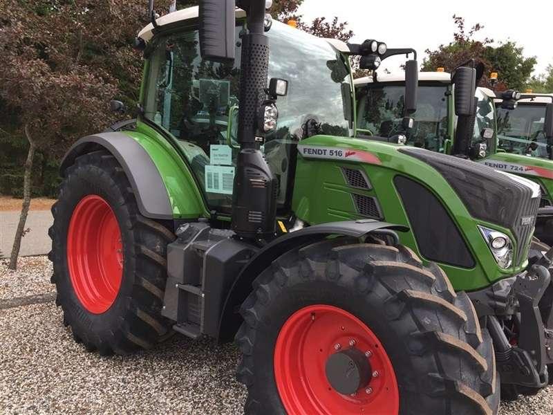 Fendt 516 Vario Profi Demo-traktor - 2018