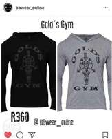 Gold Gym hoodies muscle fit