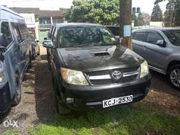 Toyota hilux double cabin.