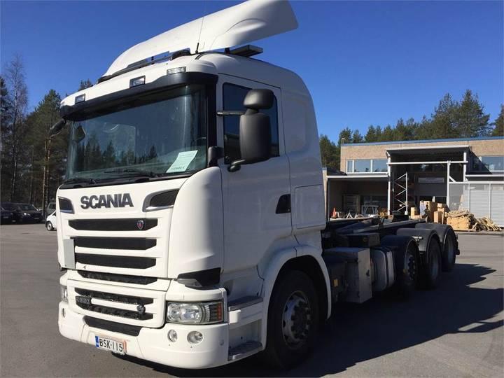 Scania R520 Tam-koukkulaite - 2015