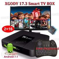NEW 2017 TX3 mini NEW KODI 17.3 2GB+16GBHD Android 7.1.2 plus keyboard