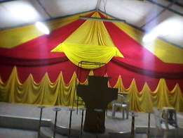 Tent hire and Decor