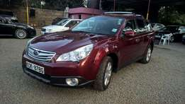 Subaru Outback BR9 (Wine Red & Leather Interior)