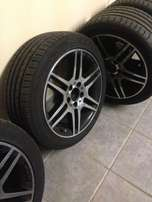 AMG Rims and Tyres
